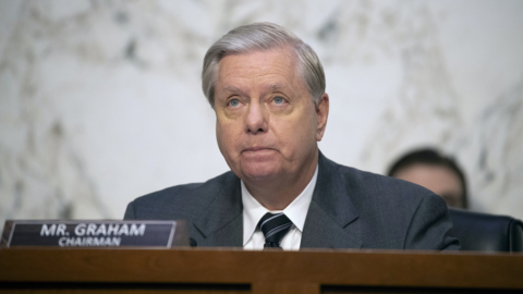 Graham at Barrett confirmation: The world is watching