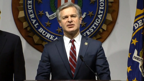 FBI Director Wray: We're going to 'aggressively investigate' signs of foreign interference in election