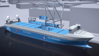 World's first autonomous, zero-emission 'ghost ship'