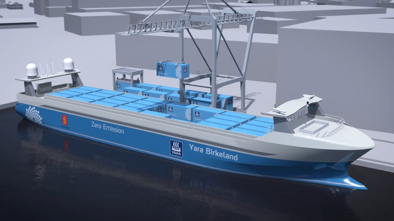 Global revolution in unmanned cargo ships bypassing the US ...