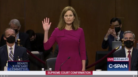 Judge Amy Coney Barrett delivers opening statement in confirmation hearing