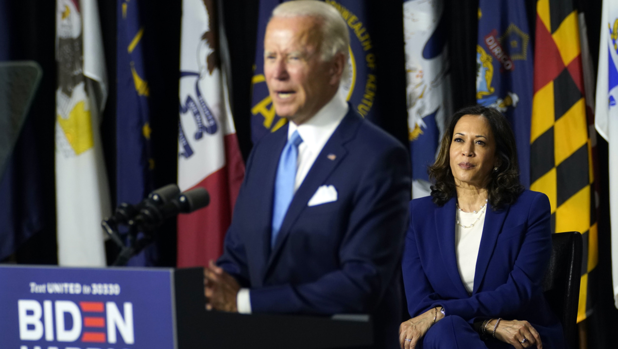 Joe Biden Introduces Kamala Harris As His Running Mate The Sacramento Bee