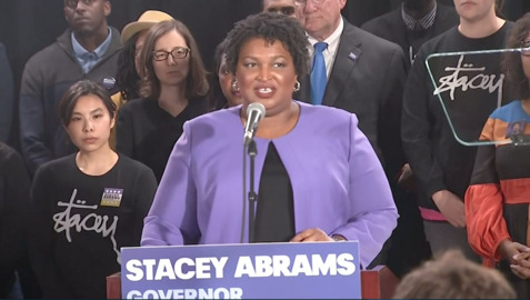"Stacey Abrams ""acknowledges"" Brian Kemp's win in Georgia  governor's race , she plans to sue over election"