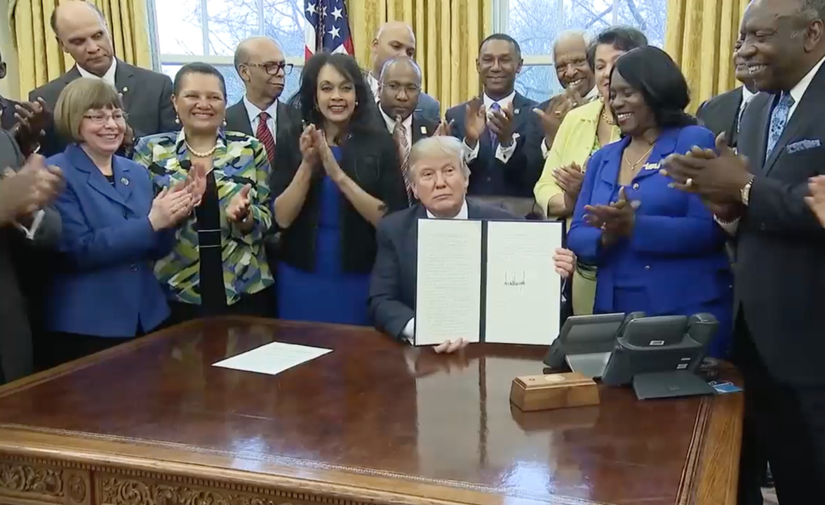 President Trump has delivered for black voters on jobs and education
