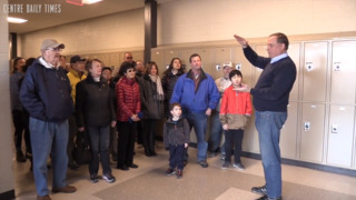 State College Superintendent excited community came to tour