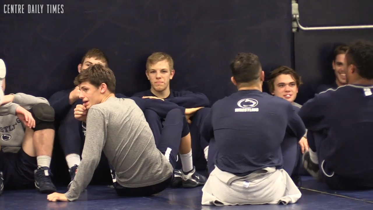 Former Penns Valley wrestler Baylor Shunk is already impressing his Penn State teammates, coaches