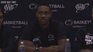 Penn State basketball guard Tony Carr says he sees a future in the NBA