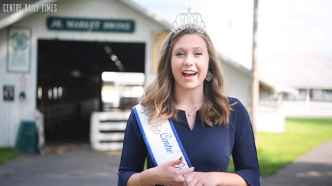 After two years as the Grange Fair Queen Morgan Bair shares what she learned and will miss