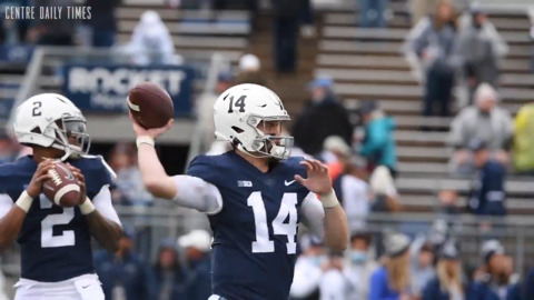 Clifford warms up for game against Illinois