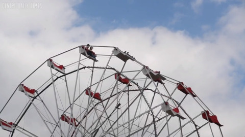 Why there's a 'silent' Ferris wheel and backward carousel horse at Grange Fair
