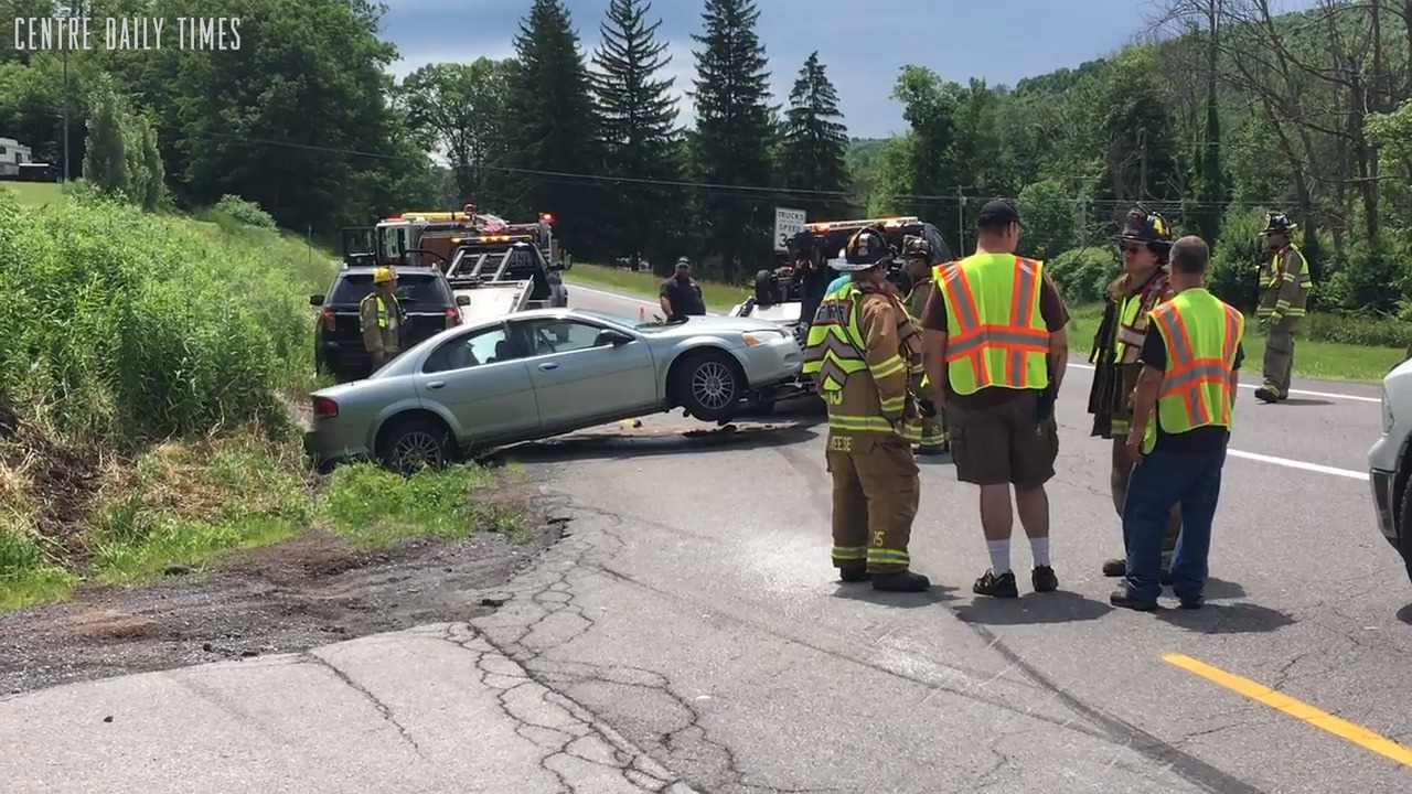 Three injured in two vehicle crash along us route 322 in worth three injured in two vehicle crash along us route 322 in worth township centre county centre daily times reheart Gallery