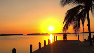 Do you want a break from the storm? Watch this beautiful sunset in Key West Florida