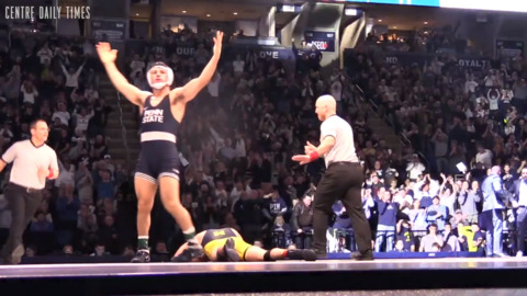 What was Penn State wrestling's move of the year, and who was the MVP? Our season awards
