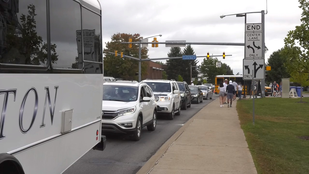 Penn State football fans were frustrated by traffic jams Saturday. Will changes be made?