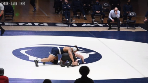 Kerkvliet makes Penn State wrestling debut with pin