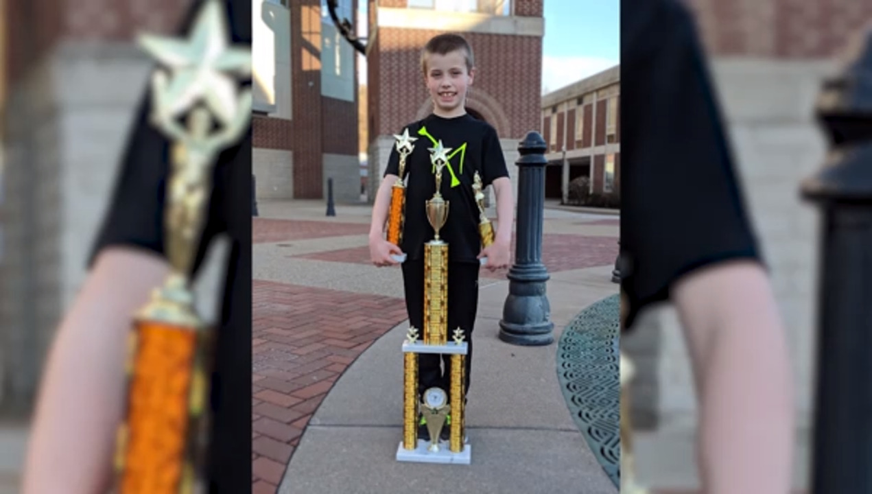 Bellefonte boy has the chance to be a twirling world champ. How you can help him get to the competition