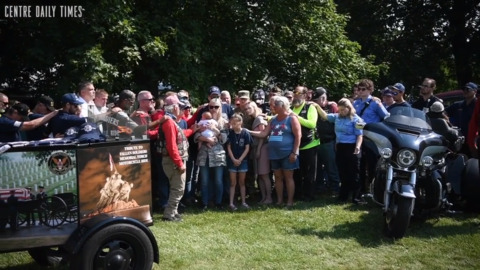Local firefighter and U.S. Air Force Airman honored in Pleasant Gap