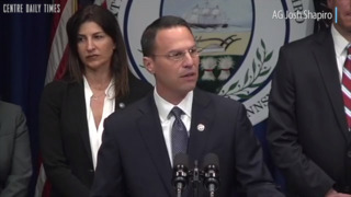 Attorney General Josh Shapiro announces grand jury report naming Pennsylvania clergy of sex abuse