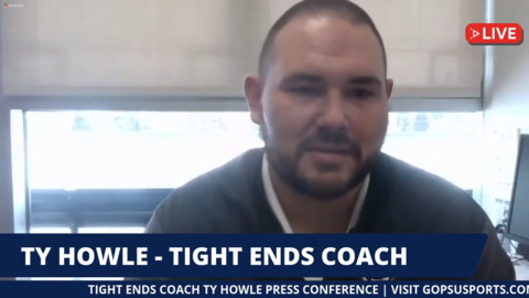 Tight ends coach Howle talks about returning to Penn State