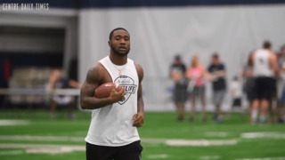 Miles Sanders is ready to show the world what he can do