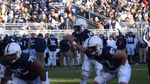 Penn State QB Clifford talks after win