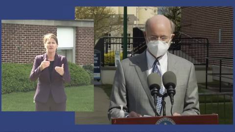 Here's why Gov. Tom Wolf, Penn State officials implored the public to get the COVID-19 vaccine