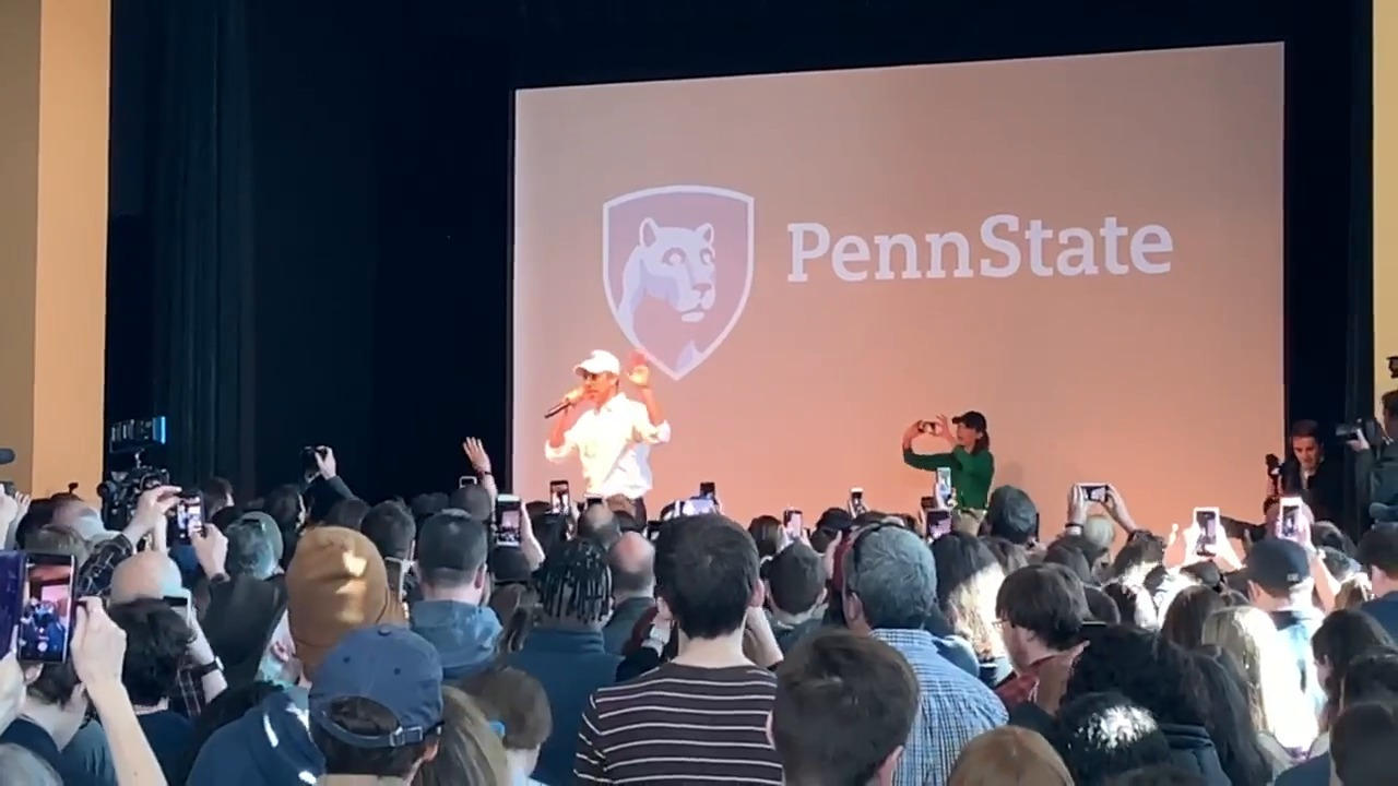 Beto O'Rourke holds meet and greet at Penn State   Centre