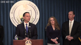 Attorney General Josh Shapiro outlines case for charges against Penn State frat members