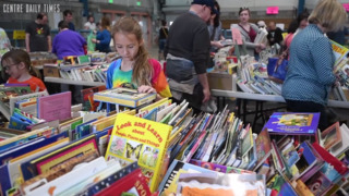 The AAUW used book sale has seen an increase in a particular genre this year