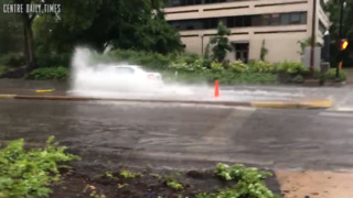 Storms across Centre County flood out Fourth of July
