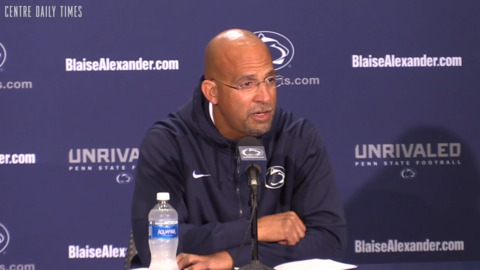 Penn State's James Franklin offers powerful statement on fan's 'racist' letter to safety