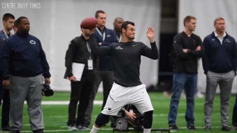 'I'm a quarterback': Trace McSorley explains his anti-DB stance at Penn State Pro Day