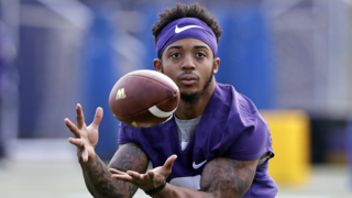 UW receiver Chico McClatcher discusses return from ankle injury