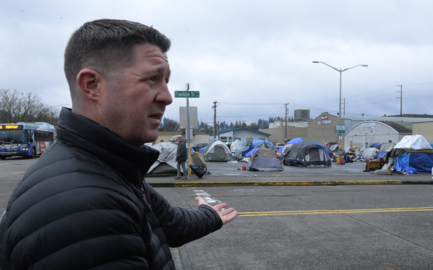 Business owners seek restraining order to stop Olympia's city-sanctioned homeless camp