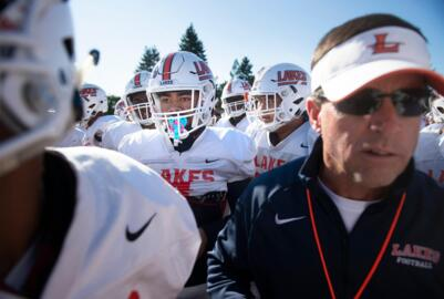 Lakes coach Dave Miller discusses state loss to Bellevue