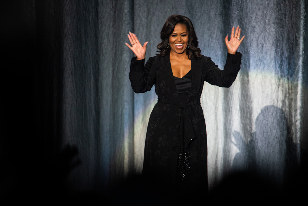 Michelle Obama at Tacoma Dome asks largest crowd of tour 'who are you becoming?'