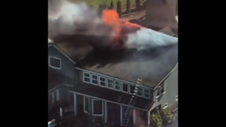 Raging fire damages Gig Harbor home, kills two pets