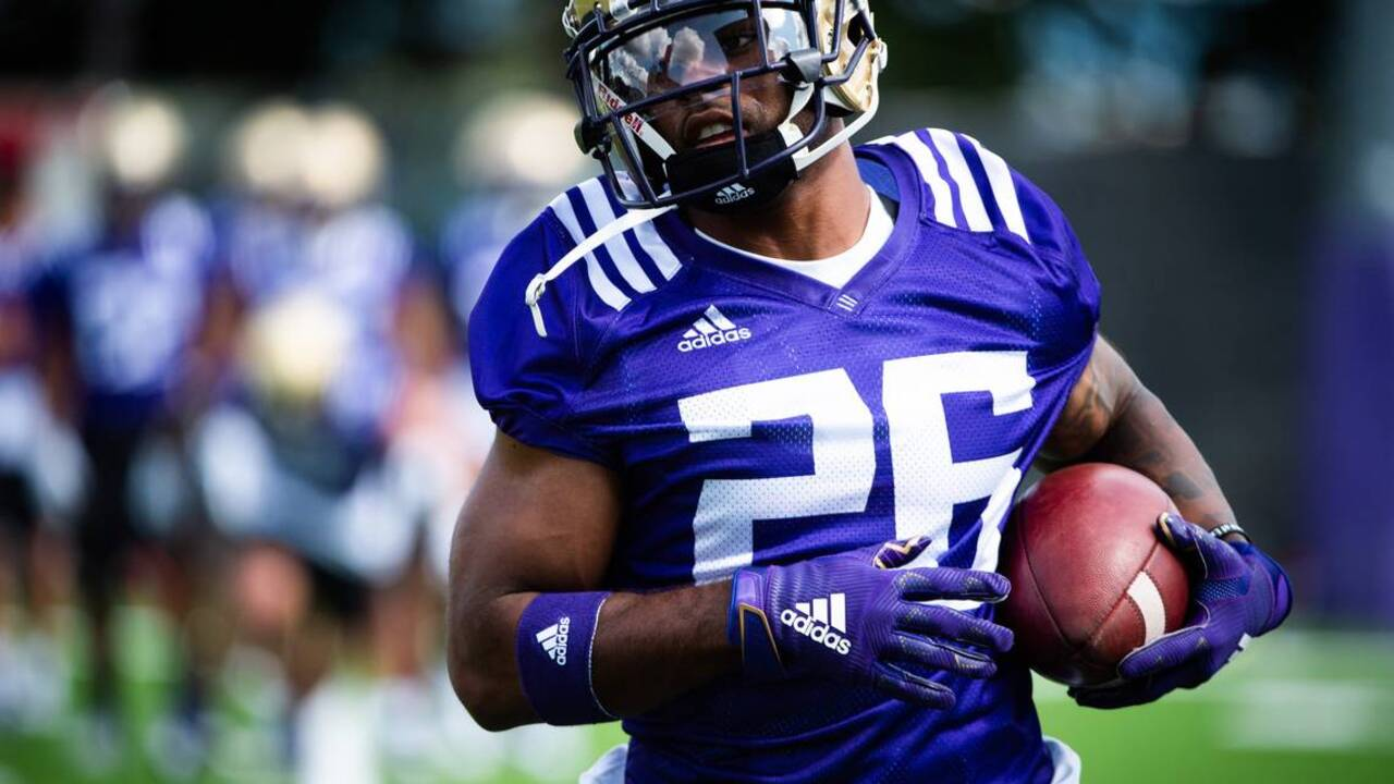 Return of the '3-headed monster?' Huskies working to find right combination at running back