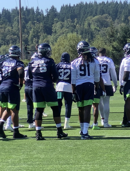new style 85155 cea74 So much new for Seahawks opener, maybe not indicative of ...