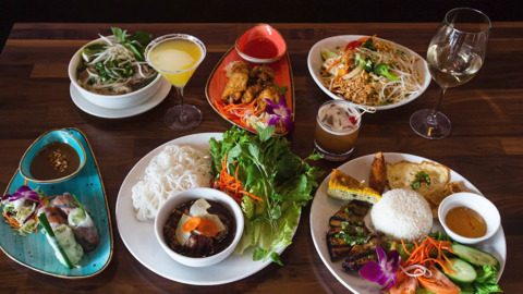 Saigon House offers a menu full of Vietnamese dishes