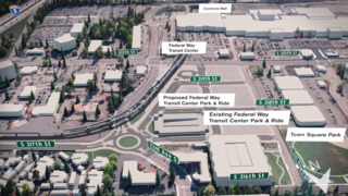 Federal Way light rail extension should bring happiness to commuters but it comes with a $2.459 billion price tag.