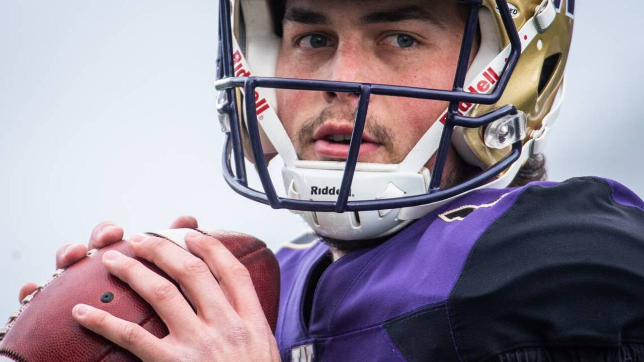 Jacob Eason named UW Huskies' starting quarterback