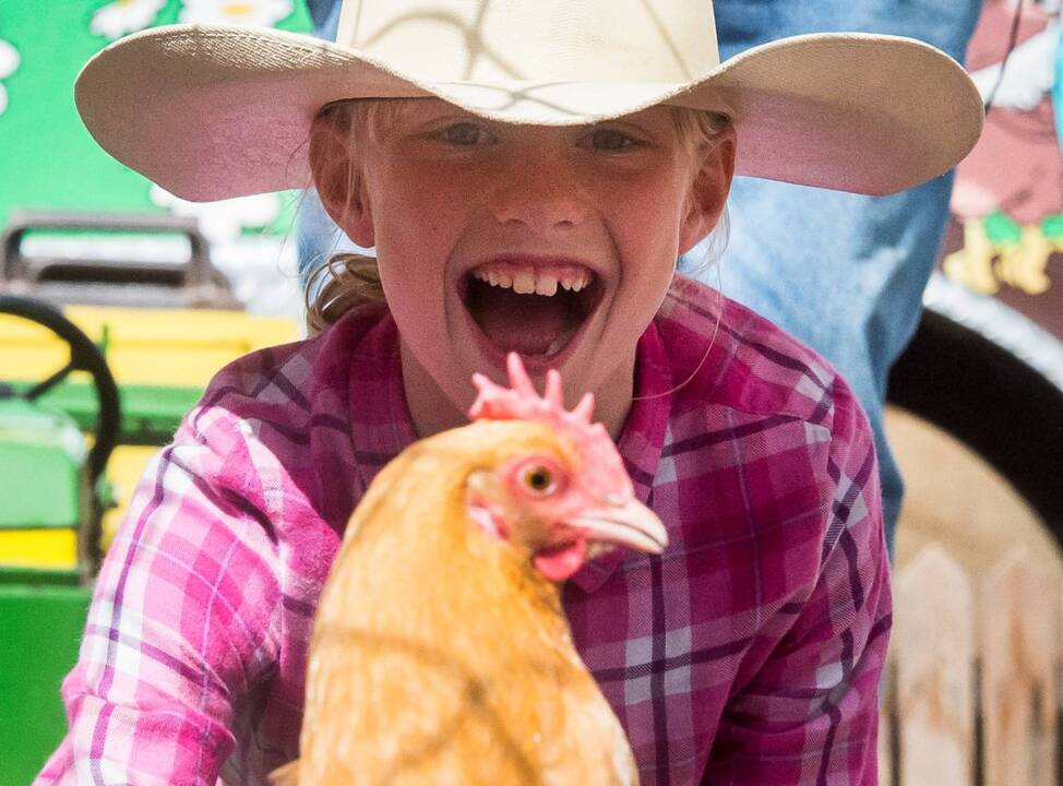 It's $1 admission for kids 6-15 at the Pierce County Fair in Graham today