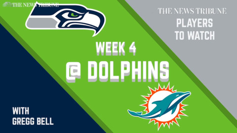 Week 4 Players To Watch: Seahawks vs. Dolphins