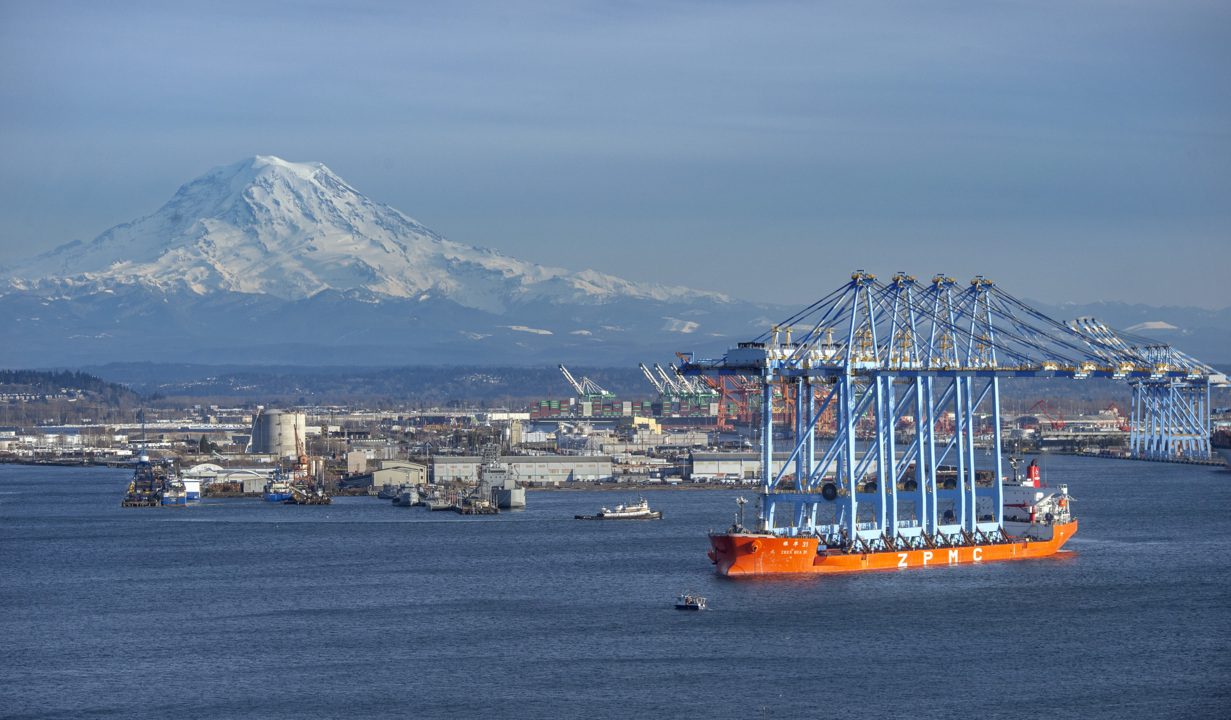 When Seattle bigwigs come calling, tell them the Port of Tacoma is open for business