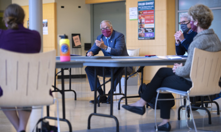 Governor Inslee talks COVID with Pierce County officials