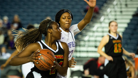 The News Tribune's girls state player of the year, Kamiakin's Oumou Toure, made the grade on and off the court