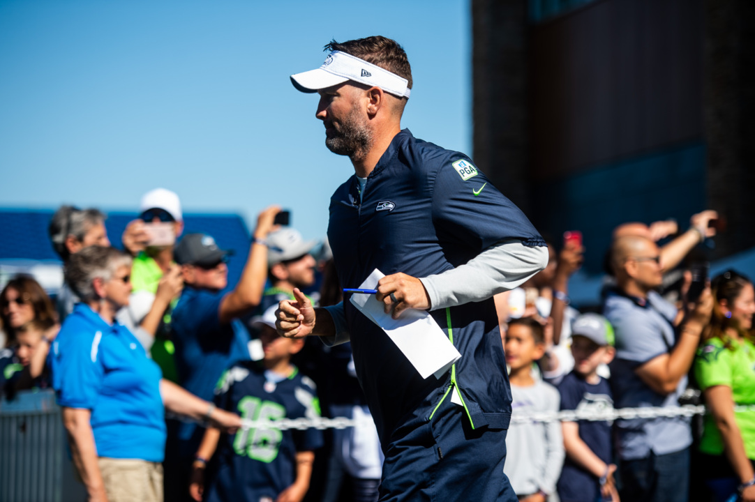What has Brian Schottenheimer raving about his offense in year two calling Seahawks plays?