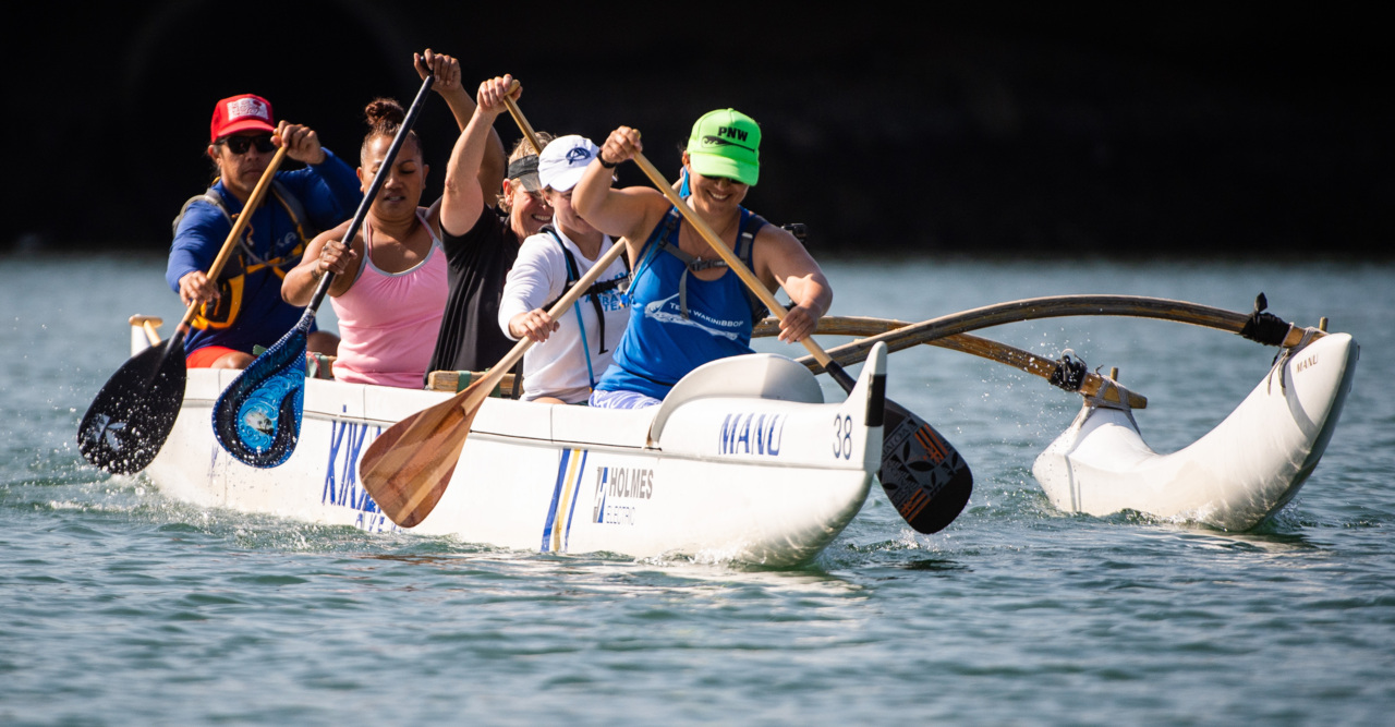 42 miles of open water, ocean swells, wind as state's top women paddlers face world's best