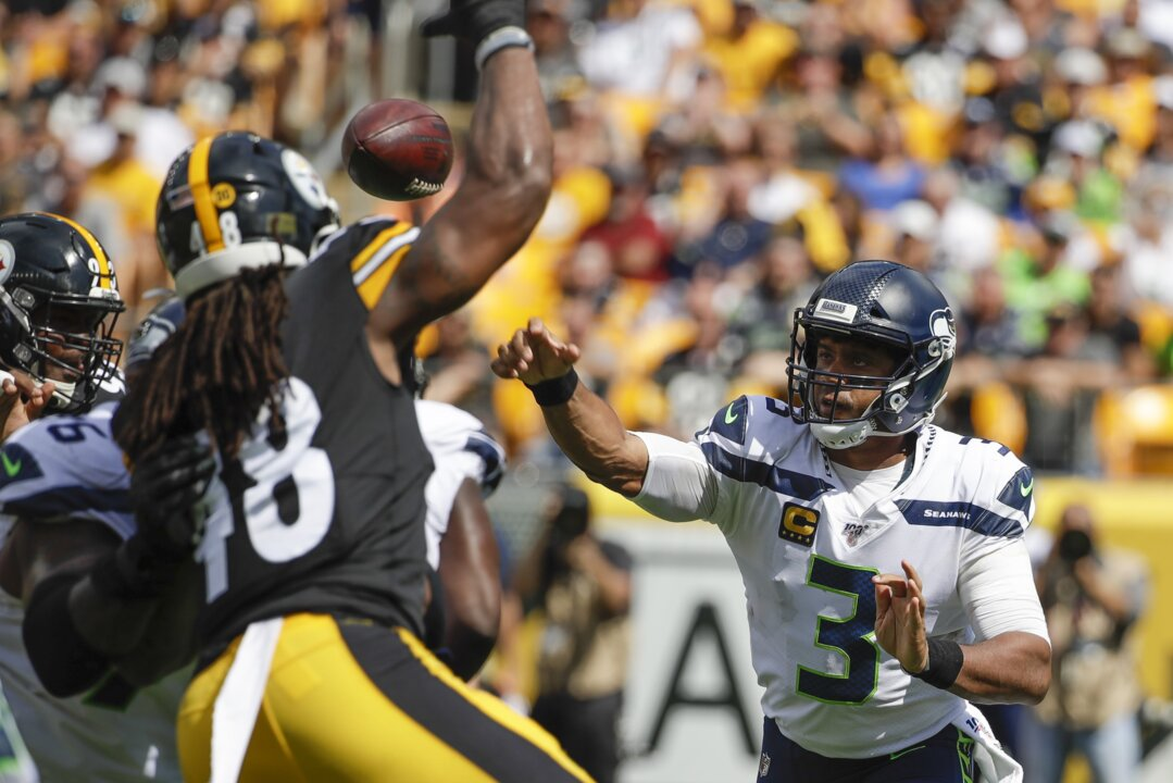Quick passing in Pittsburgh, 2-0 record don't mask urgent problem for Seahawks' O-line